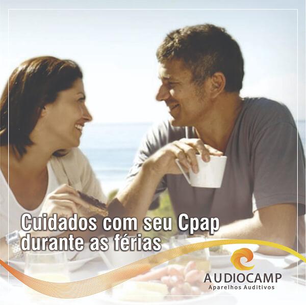 Quais os cuidados com o CPAP durante as férias?